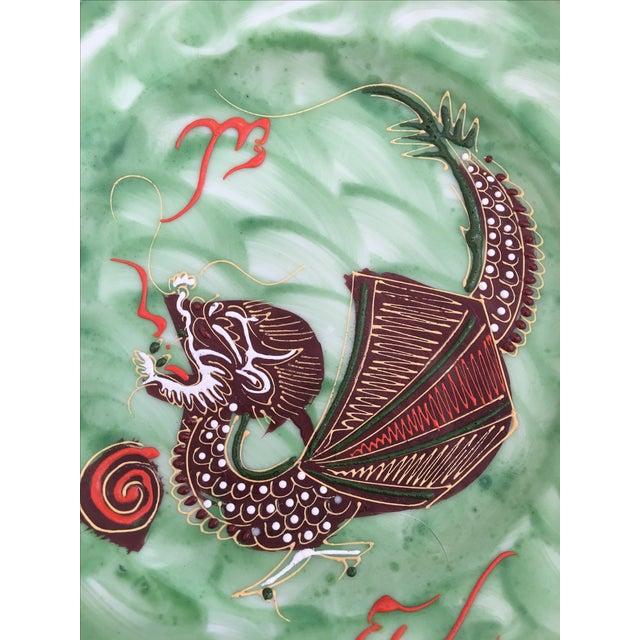 1940's Nagoya Moriage Dragon Ware Tea Set - 7 - Image 10 of 11
