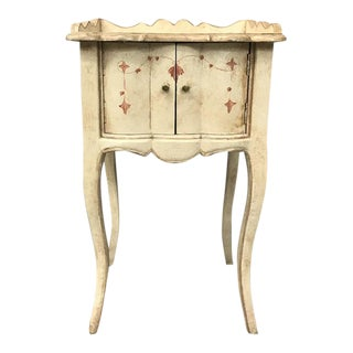 Louis XV Style Light Brown Painted Table For Sale