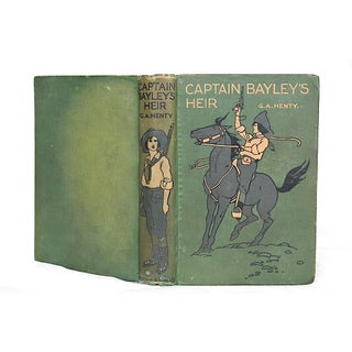 Vintage Adventure Book With Decorative Cover Preview