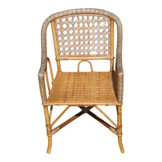 Early 20th Century Antique Children's Cane Chair For Sale
