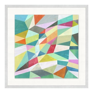 Contemporary Abstract Geometric Print For Sale
