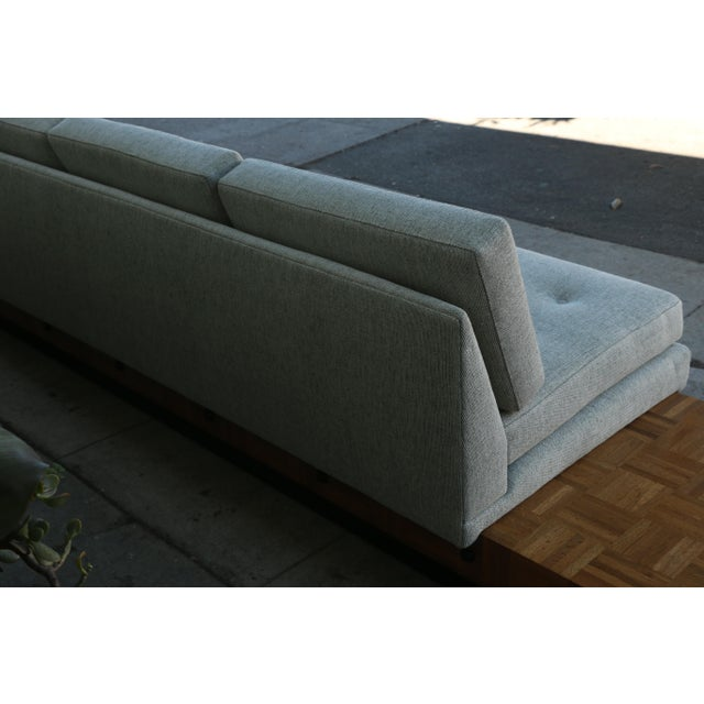 Adrian Pearsall Patched Burlwood Platform Sofa For Sale - Image 10 of 12