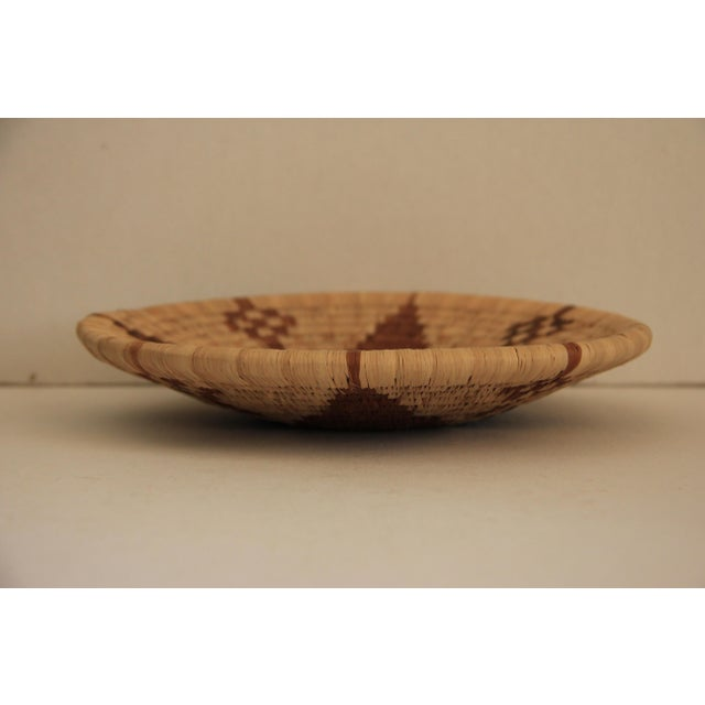 Handwoven African Shallow Basket - Image 4 of 4