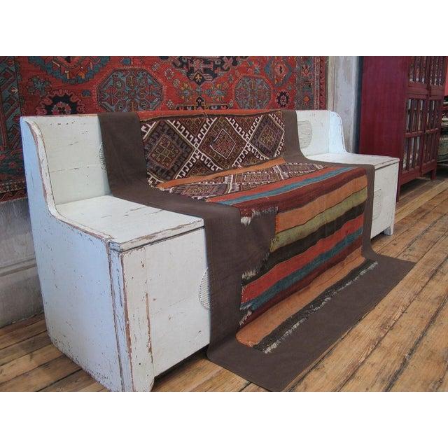 Boho Chic Antique Anatolian Kilim, Grain Sack For Sale - Image 3 of 8