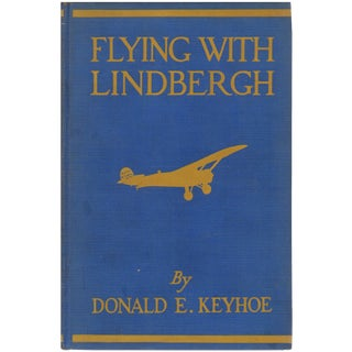 """Flying With Lindbergh"" 1929 Book For Sale"