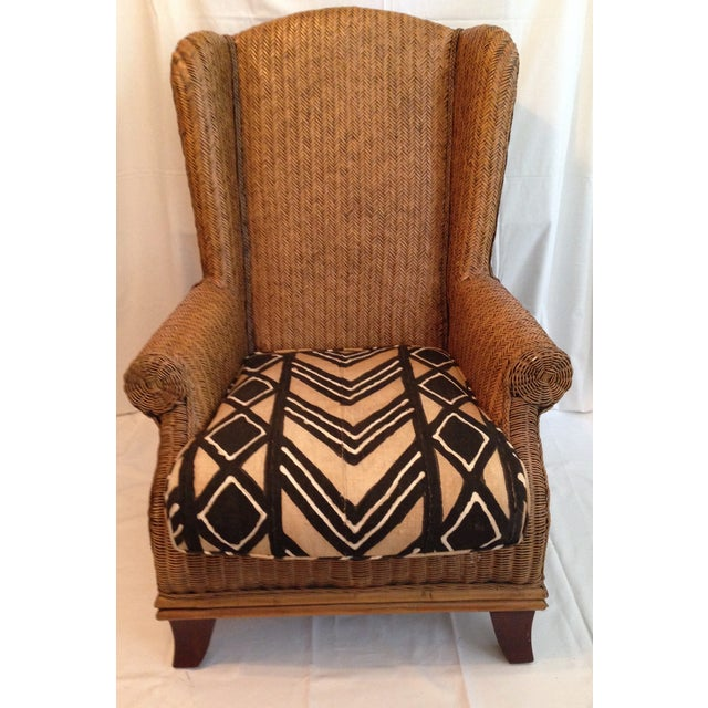 African Oversize Padma Plantation Chair For Sale - Image 3 of 7