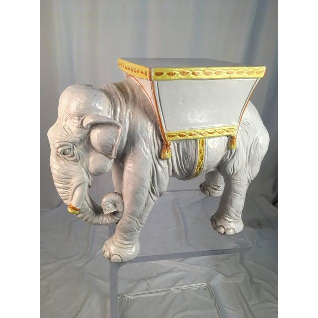 1970's Vintage Italian Elephant For Sale - Image 11 of 11