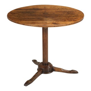 Antique Continental Pedestal Table For Sale