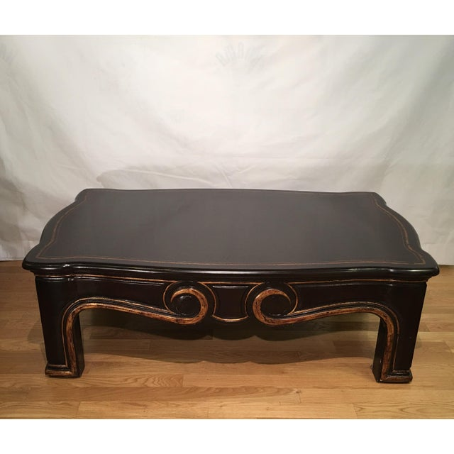 Gregorius Pineo Black & Gold Morrison Coffee Table For Sale In Los Angeles - Image 6 of 6