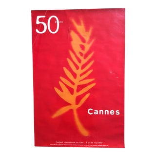 50th Cannes Film Festival Poster For Sale