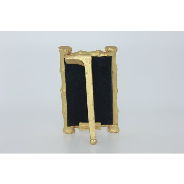 Vintage Gold Gilt Faux Bamboo Photo Frame - Image 4 of 5