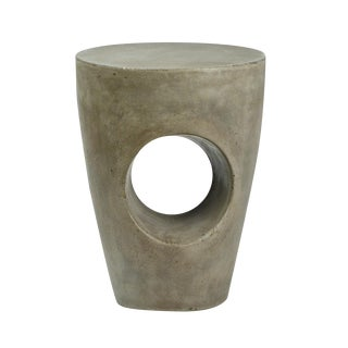 Modern Cement Resin Stool