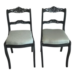 American 19th Century Chairs - a Pair