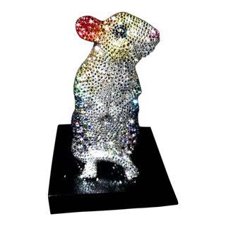 Large Swarovski Mouse Figurine For Sale