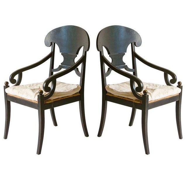 Pair of Swedish Armchairs - Image 3 of 3