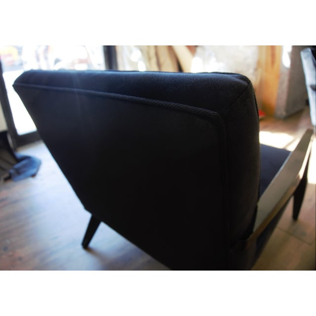 Gio Ponti Ponti Era Fireside Low Slipper Chairs - A Pair For Sale - Image 4 of 11