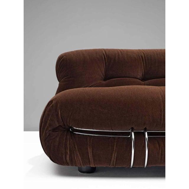 Afra & Tobia Scarpa Afra and Tobia Scarpa Soriana Sofa For Sale - Image 4 of 7