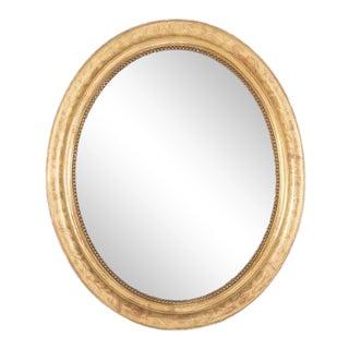 Oval Louis Phillippe Mirror