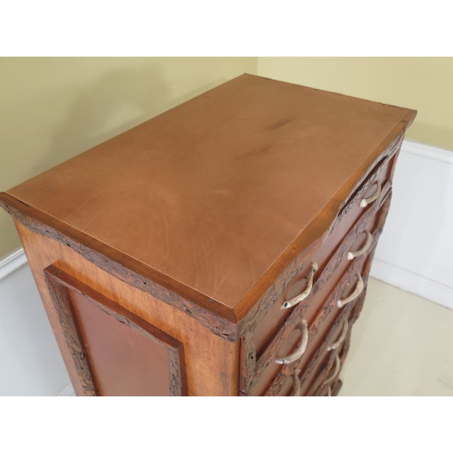 Adirondack 1990s Adirondack Style 6 Drawer High Chest For Sale - Image 3 of 12
