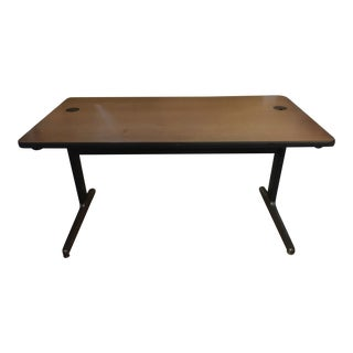 Herman Miller George Nelson Aluminum Group Desk For Sale