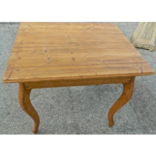 19th Century French Small Stained Pinewood Table Preview