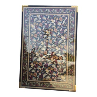 19th Century English Needlepoint, Framed For Sale
