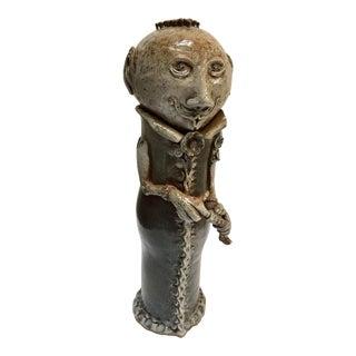 Art Studio Pop Surrealist Fantasy Figure Ceramic Sculpture For Sale
