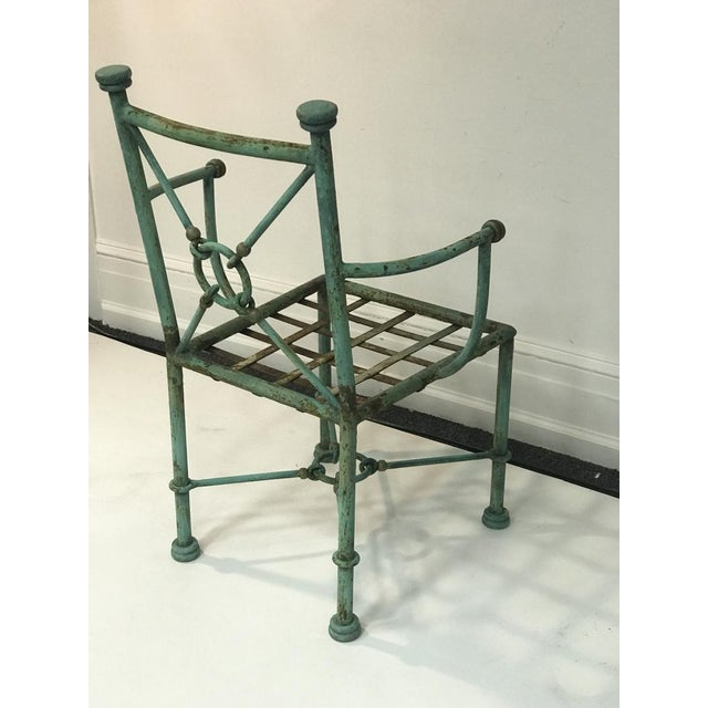 Brutalist Giacometti Style Chairs - Set of 6 For Sale - Image 3 of 10