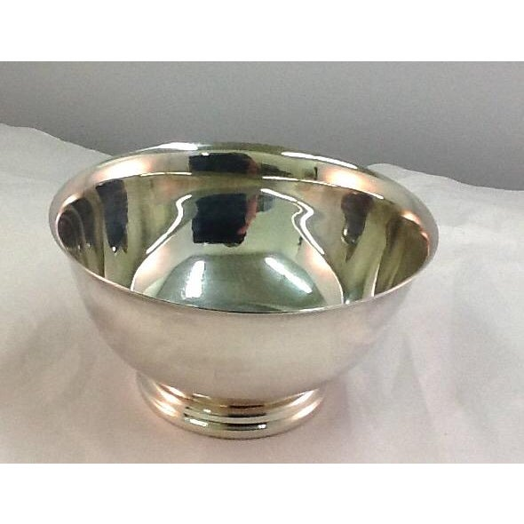 Vintage Paul Revere Silver Plated Condiment Bowl - Image 2 of 4