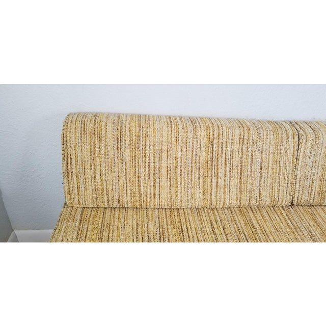 George Nelson for Herman Miller Convertible Daybed Sofa With Hairpin Legs . For Sale - Image 9 of 13