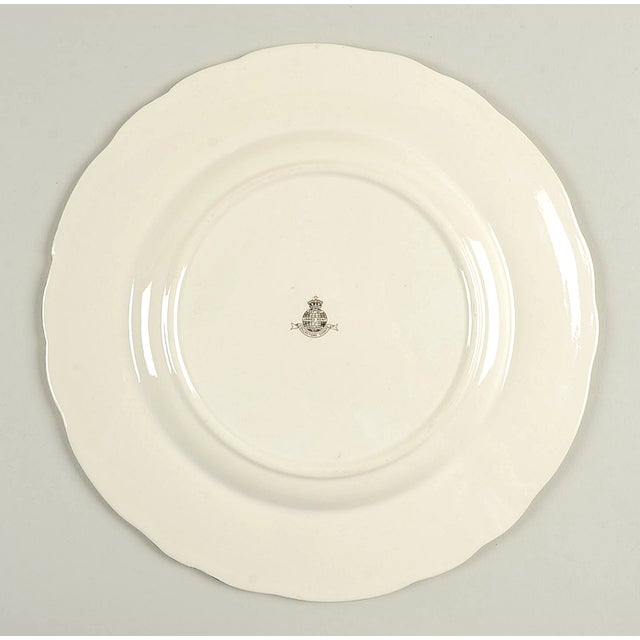 2000 - 2009 James Kent Rosalynde Chintz Luncheon Plate Set/6 For Sale - Image 5 of 7