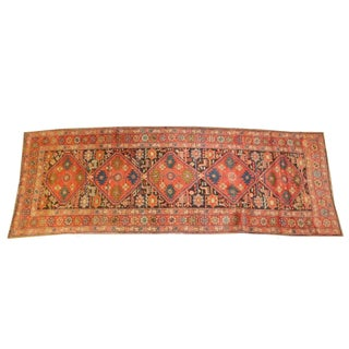 "Leon Banilivi Antique Persian Heriz Runner - 9'8"" X 3'6"""