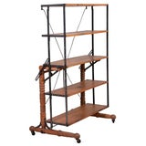 Image of Convertible Shelf to Table For Sale