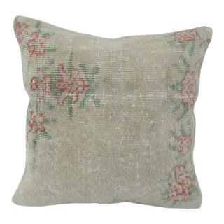Turkish Floral Vintage Pillow Cover For Sale