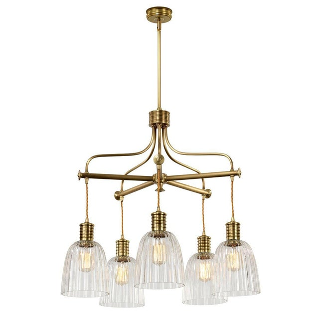Douille 5-Light Chandelier - Image 2 of 3