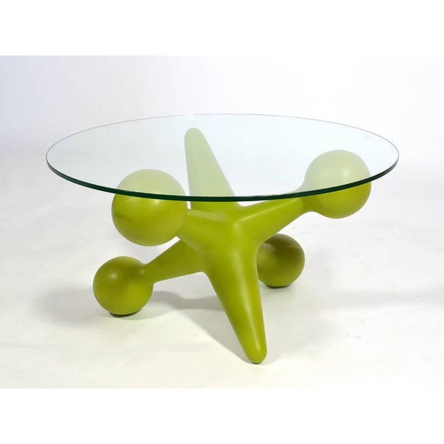 """Glass Bill Currie """"Jack"""" Table by Design Line For Sale - Image 7 of 10"""