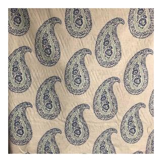 Peter Fasano Chamba Indigo Blue Fabric