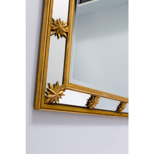 Neoclassical Style Star Mirror For Sale In New York - Image 6 of 8