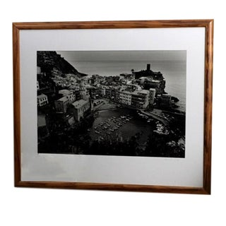 """""""Vernazza Overlook"""" Contemporary Photograph by Edward Vliek, Framed For Sale"""
