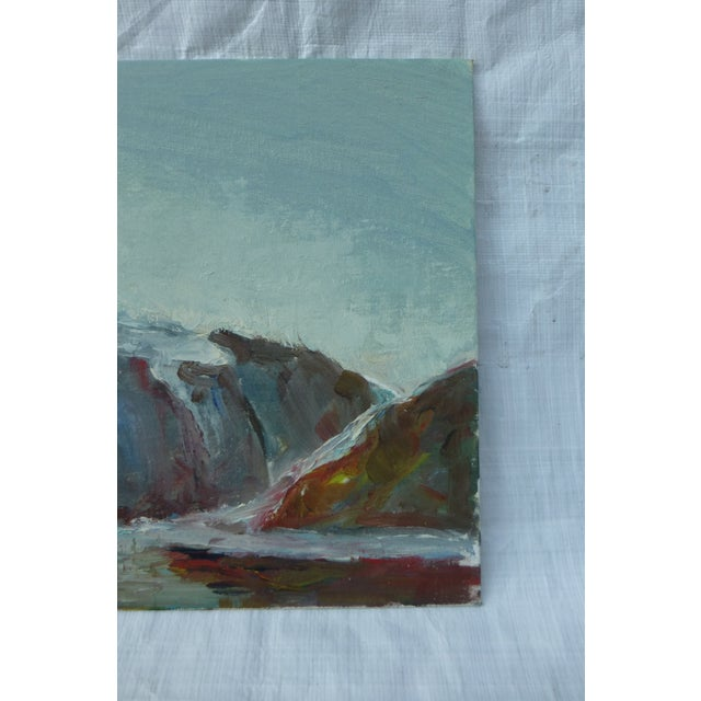 MCM Painting of Rocky Ocean H.L. Musgrave - Image 5 of 6