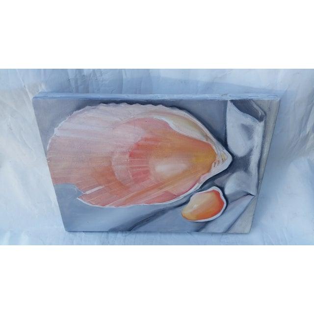 Original Shell Study on Canvas - Image 3 of 4