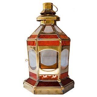 Moroccan Sunrise Candleholder Lantern For Sale