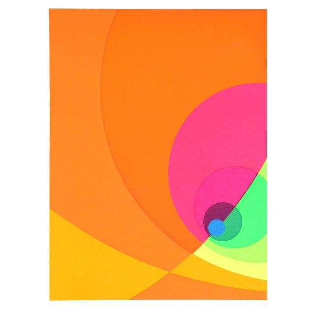 Herbert Aach Split Infinity #8bs Serigraph For Sale