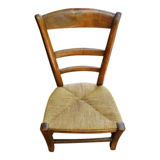 Antique French Children's Chair For Sale