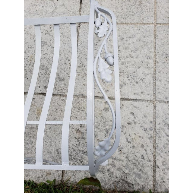 1940s 1940s Vintage Salterini Wrought Iron Club Chair For Sale - Image 5 of 7