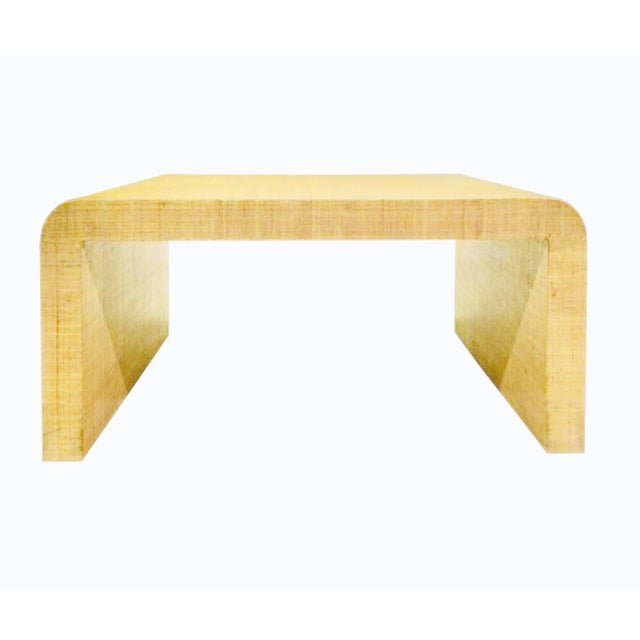Tan Waterfall Coffee/Cocktail Table by Harrison Van Horn For Sale - Image 8 of 8