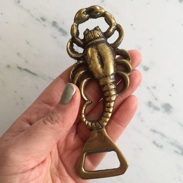 Brass Lobster Bottle Opener - Image 4 of 6