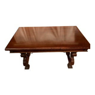 Spanish Renaissance Walnut Refectory Table For Sale