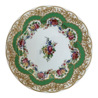 Andrea by Sadek Collection Sevres Plate For Sale