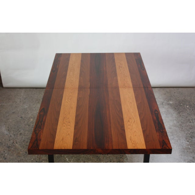 Directional Mixed-Wood Dining Table by Milo Baughman - Image 3 of 13